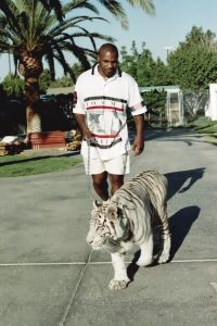 mike tyson and tiger